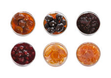 Collection of jams Royalty Free Stock Photos