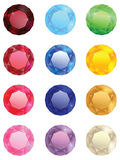 The collection of jewels Royalty Free Stock Photography