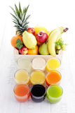 Collection of juice Stock Images