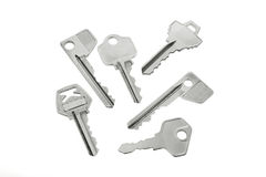 Collection of Keys Royalty Free Stock Photos