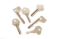 Collection of Keys Stock Photography
