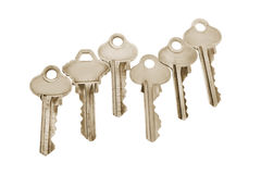 Collection of Keys Stock Photos