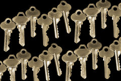 Collection of Keys Stock Image