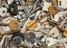 Collection of keys Stock Images