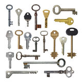 Collection keys. Stock Photo