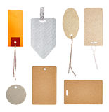 Collection of labels and price tags Stock Photos