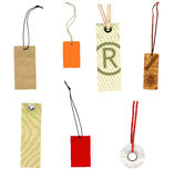 Collection of labels prise labels Royalty Free Stock Photo