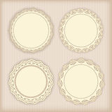 Collection lace frames. Stock Photography
