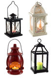 Collection of lanterns Royalty Free Stock Images