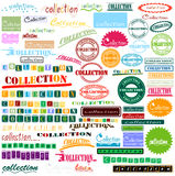 Collection of letters Stock Photography