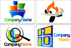 Collection logo Stock Photo