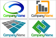 Collection logo Royalty Free Stock Images