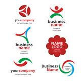 Collection of  logos spektorny Royalty Free Stock Photos
