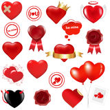 Collection Love Elements. Vector Royalty Free Stock Images