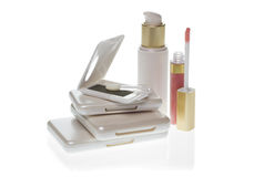 Collection of make up products Stock Photography