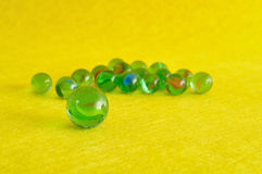A collection of marbles Royalty Free Stock Photography