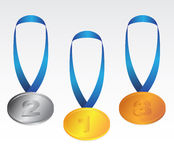 Collection of medals Stock Image
