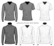 Collection of men clothes Stock Photography