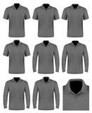 Collection of men polo shirt. Stock Photo