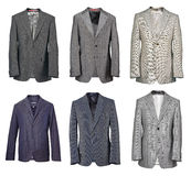 Collection of men suit stock photos