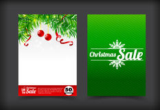 014 Collection of merry christmas coupon card banner promotion s Royalty Free Stock Images