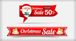 026 Collection of Merry Christmas sale web tag banner promotion Stock Photos