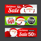 031 Collection of Merry Christmas Santa Claus tag banner promoti. Collection of Merry Christmas Santa Claus tag banner promotion sale discount style with Stock Images