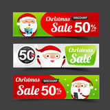 023 Collection of Merry Christmas Santa Claus tag banner promoti. Collection of Merry Christmas Santa Claus tag banner promotion sale discount style with Royalty Free Stock Photography
