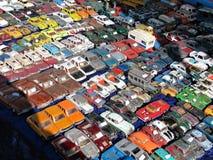 Collection modèle de véhicules de jouet Images libres de droits