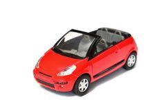 Collection models, Citroen Pluriel C3 cabriolet Stock Photo
