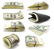 Collection money Stock Images
