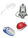 Collection of mouses Stock Image