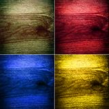 Collection of multi-colored backgrounds Royalty Free Stock Image