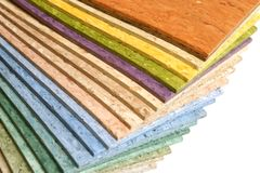 Collection multicolored linoleum Royalty Free Stock Image