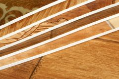 Collection natural linoleum Royalty Free Stock Image
