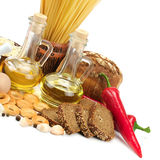 Collection of natural products Royalty Free Stock Images