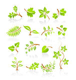 Set of nature icons Royalty Free Stock Photo