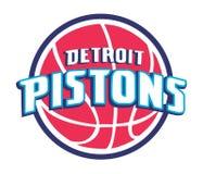 Collection of NBA team logos vector illustration stock illustration