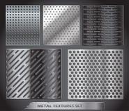 Collection nette en métal illustration de vecteur