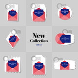 Collection New collection Blank Envelope postage stamp Stock Photography