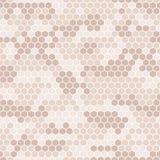 Collection numérique de camouflage de pixel de vecteur sans couture - urbaine, désert, jungle, ensemble de camo de neige Images stock