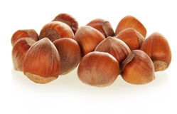 Collection of nuts Stock Photo