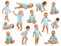 Free Collection Of A Baby Boy S Behavior Royalty Free Stock Images - 15508539
