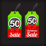 Collection Of Christmas Web Tag Banner Promotion Sale Anddiscount Vector Illustration 003 Stock Photos
