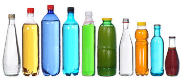 Free Collection Of Different Bottles Royalty Free Stock Photo - 42175195