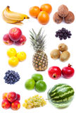 Collection Of Fresh Fruits Royalty Free Stock Images