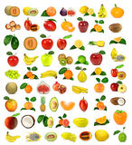 Collection Of Fruit Royalty Free Stock Photo