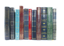 Collection Of Old Books Stock Images