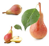 Collection Of Pears Royalty Free Stock Photos