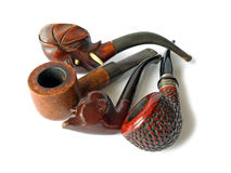 Collection Of Pipes Royalty Free Stock Photos